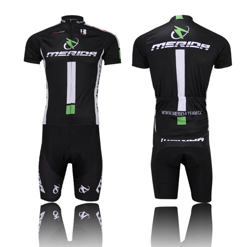 9dce4f21b Fashion Men s black merida Cycling Wear Short jersey Shorts Bicycle Bike  bib Jersey Cycling Clothing