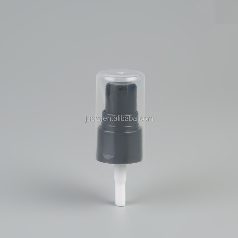20/410 Black Plastic Cream Pump Cosmetic Water Pump Foundation Pump For Cosmetic Bottles China Supplier