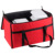 Red large commercial thermal cooler fast hot food pizza delivery carry bag bike insulated food delivery bag
