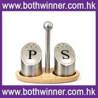 HT032 custom salt and pepper shakers