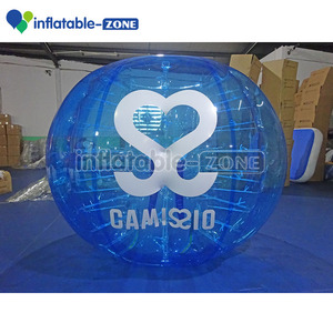 Human sized inflatable bubble ball/ soccer bubble football toy