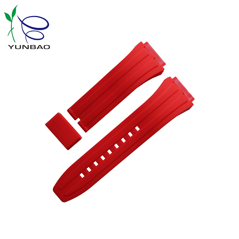 Popular customized colorful silicone smart watch band