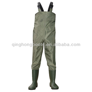 custom made breathable fishing waders black or green