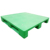 ISO 9001/14001 single face hape steel euro reinforced hdpe plastic pallet made in china hdpe pallet