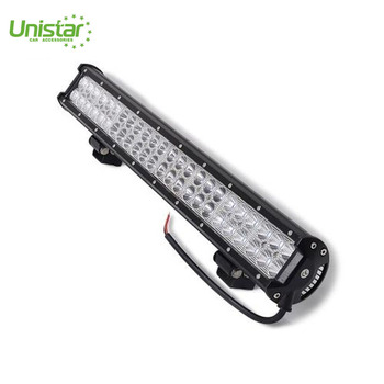 DRL led light bar roof mount 22inch roof mount super white work car offroad lamp bar in 144w with straight shape