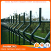 Trade assurance cheap Galvanized and Powder coated Welded Wire Mesh Fence Panel with wire diameter 4.85mm 2.40x2.00M