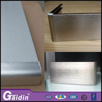 Building Material Anodized Aluminum Baseboard Accessory ...
