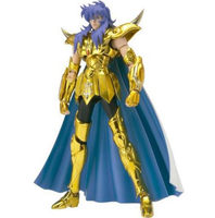 High Quality golden Japanese anime figure Saint Seiya resin action figure