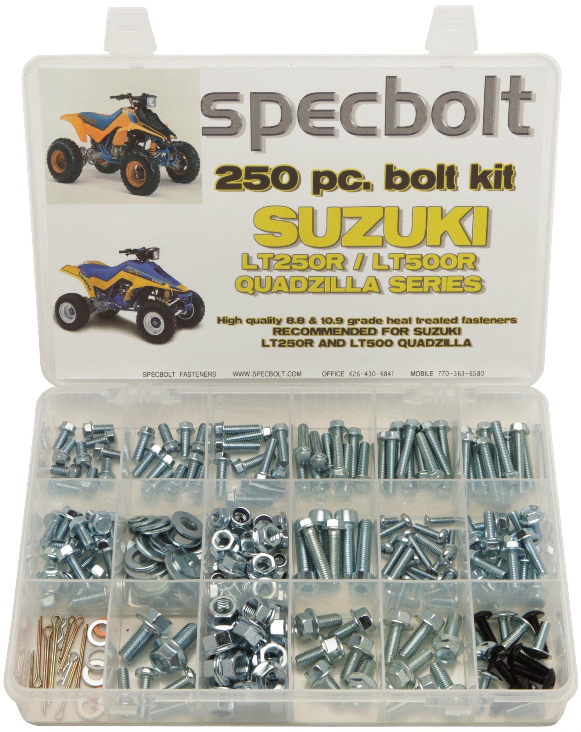 Rear Wheel Ball Bearing and Seals Kit Fits SUZUKI LT250R QuadRacer 250 2X4 85-92