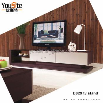 Design Wooden Display Led Tv Stand Wood Vintage D829