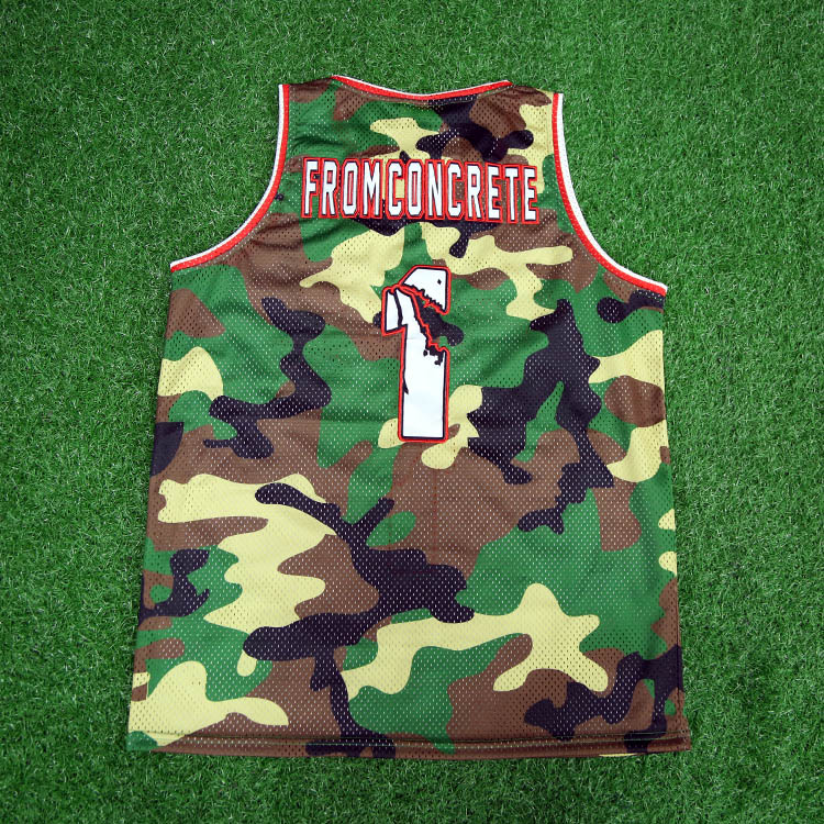 Benutzerdefinierte billige Sublimation Großhandel Blank Basketball Jersey Basketball Uniform