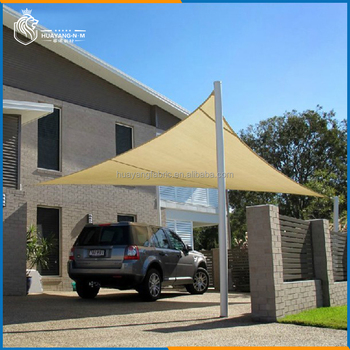 Hdpe carport sun shade net canopy sun shades buy for Shade sail cost