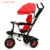 China factory new models high quality 4 in 1 ride to 3 in 1 baby tricycle 2019 with roof for sale