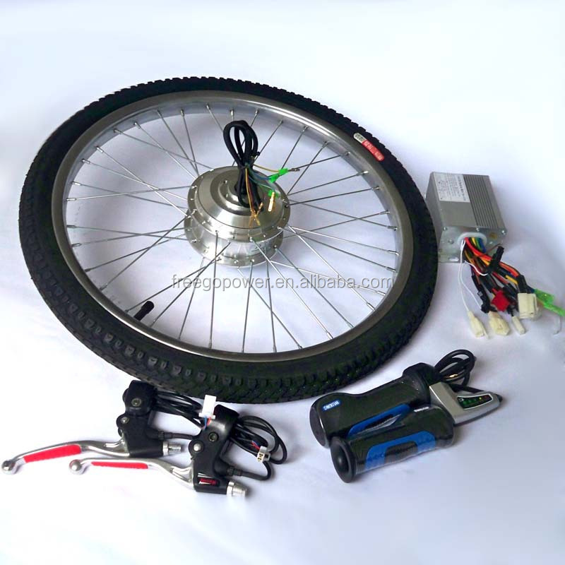 ebike brushless dc motor wheel electric bicycle conversion kit 36v