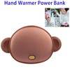 Rechargeable 4500 mAh Hand Warmer Power Bank Charger with USB Output for Mobile Phone