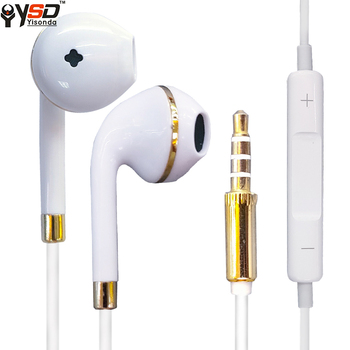 New Arrival G6, Plastic Cheap Good Quality Wired Earphone Wholesale for Apple
