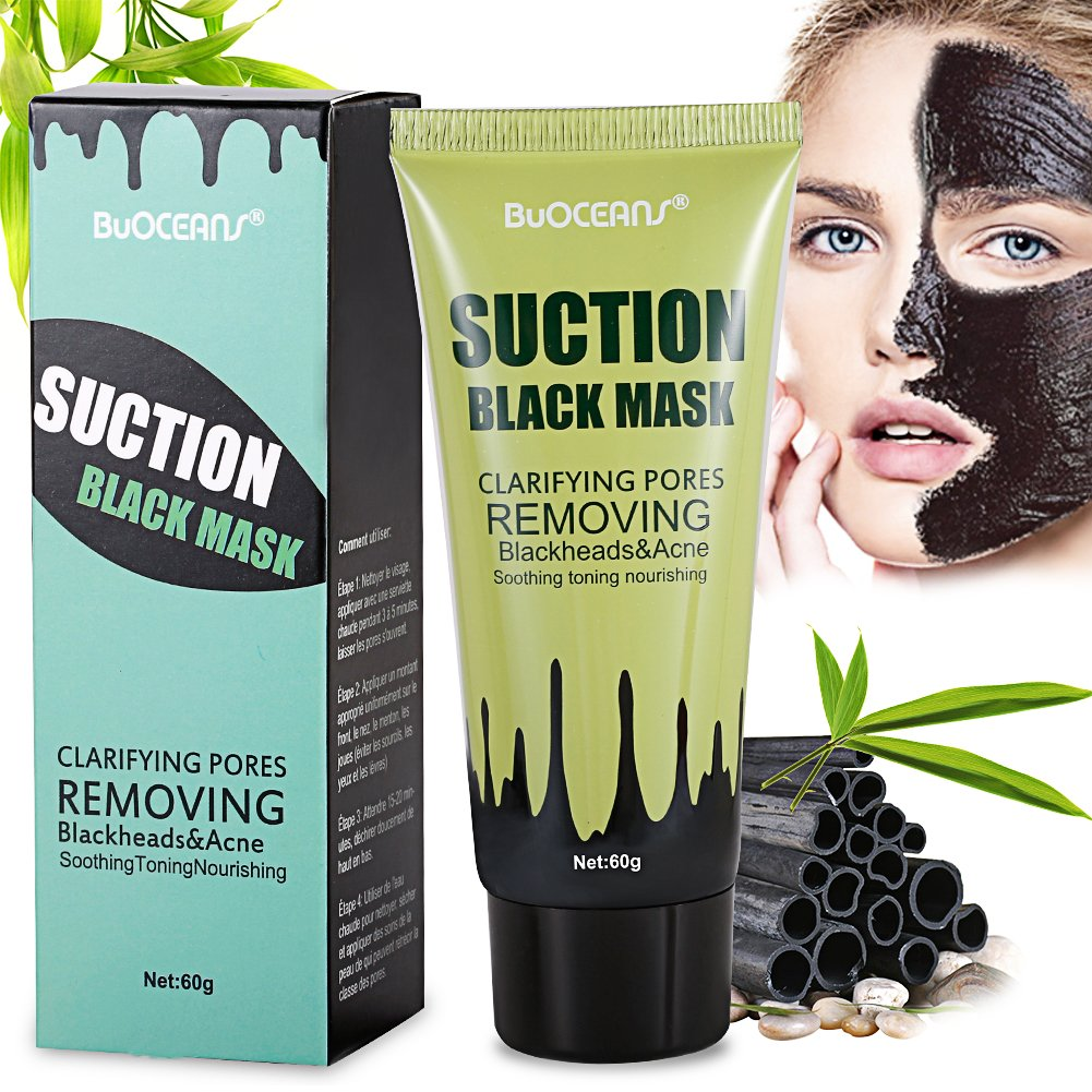 Charcoal peel off mask, Charcoal Black Mask, Peel Off Mask, Blackhead Remover Mask,Activated Natural Bamboo Charcoal Mask, Deep Cleansing Black Mask Purifying Face Mask For Nose Acne