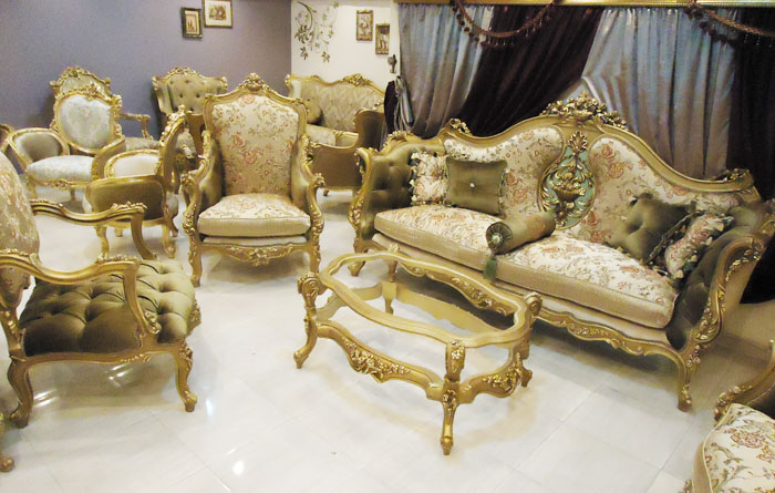 European Style Antique Louis Xv Sofa Set Home Antique Classic Salon ...