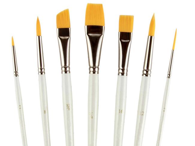 Wholesale 15 pcs set art supplies paint brush for artist for Wholesale craft paint brushes