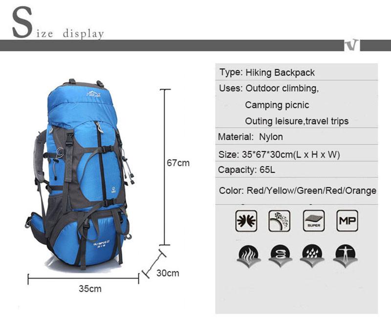 bb472e7679b7 Подробнее Обратная связь Вопросы о Профессиональный походный рюкзак ...
