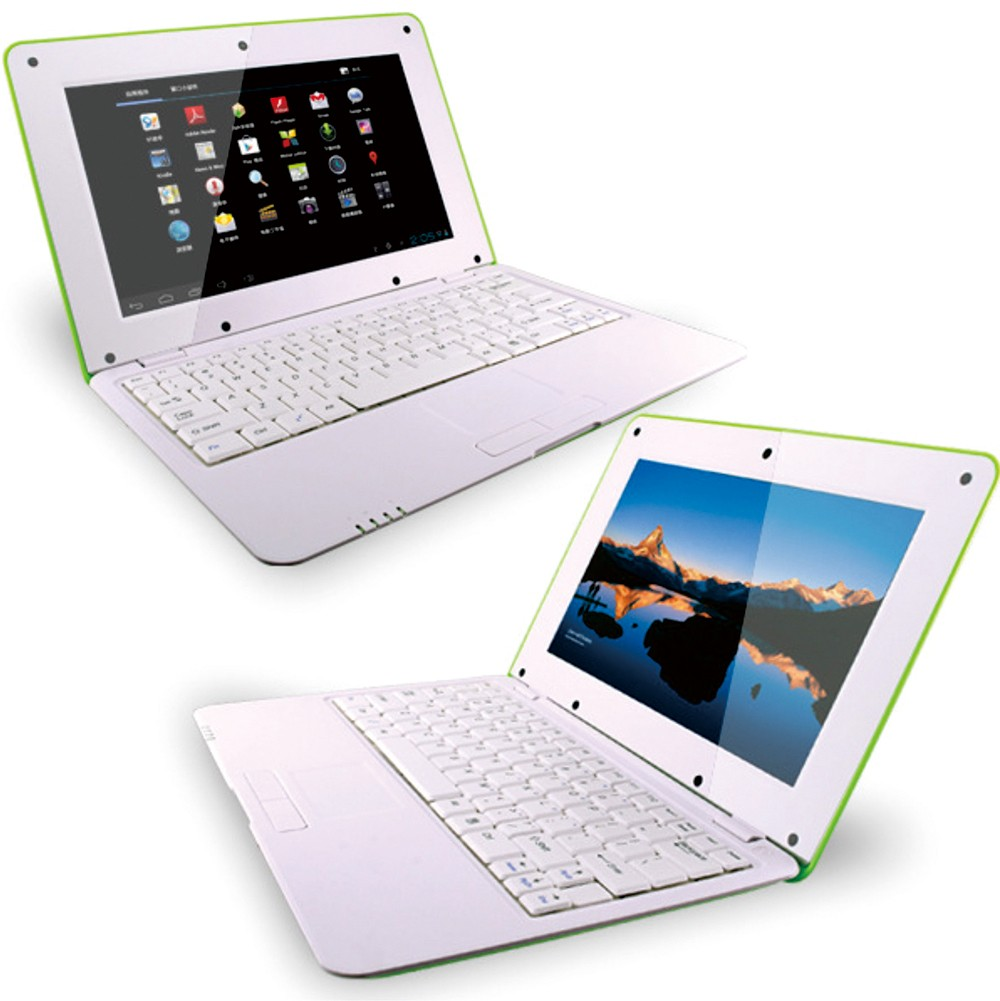 "10"" Dual Core 1.5G mini laptop Android5.1 VIA8880 10inch Mini laptop 10inch notebook"