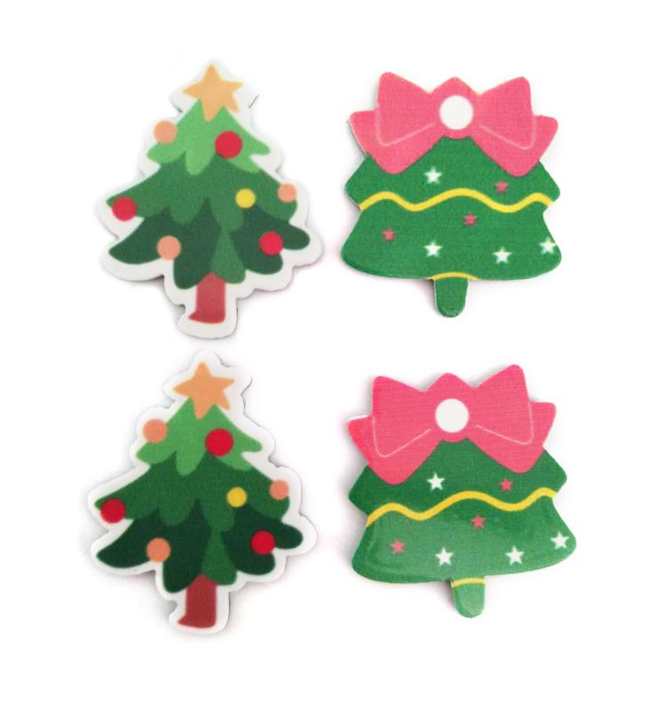 Baum Acryl Weihnachten Ornament Für Kinder Kleidung/scrapbook/holz ...