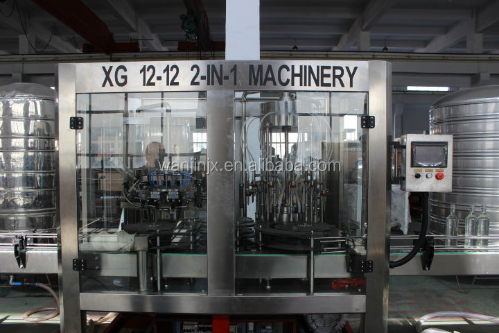 China Market Rinser Filler Capper Beer Filling Machines