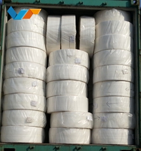 Rayon and PET Spunlace Nonwoven Fabric Clean Wipe Material