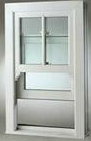 The latest product YT upvc vertical sliding window
