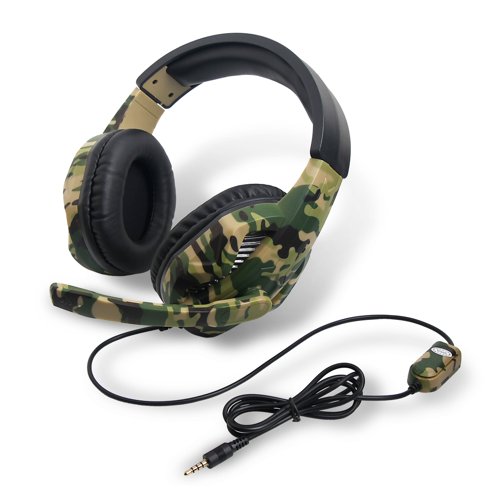 OIVO Factory IV-X1012 Stereo High Power Bass Camouflage Gaming Headset for PS4/Xbox one/Xbox 360/Nintendo Switch/PC