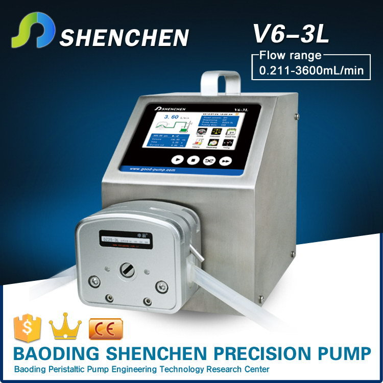 Various flow rate pump head for concrete,semi automatic metering pump for grease,small flowrate digital pump for lip balm