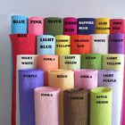 Wholesale Premium Colored Crepe Paper Custom Logo Printed Rolling Paper