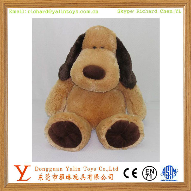 big ear cute puppy toy plush stuffed dog