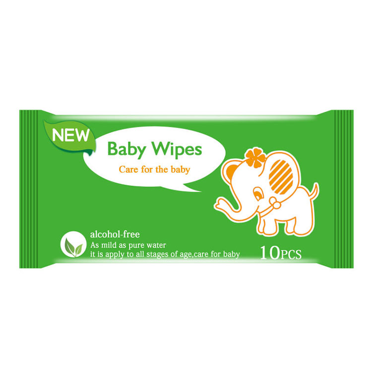 Free sample baby wet wipes disposable pet wipe toilet roll wet wipes for baby