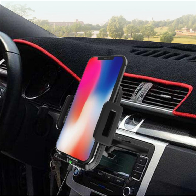 Modern Design Qi Wireless Charger Stand Best Phone Car Charger