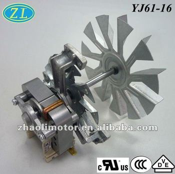 Small Ful Electric Motors Oven Fan Motor Yj61 16 120 220v 50 60hz Ul Vde Ccc Ce