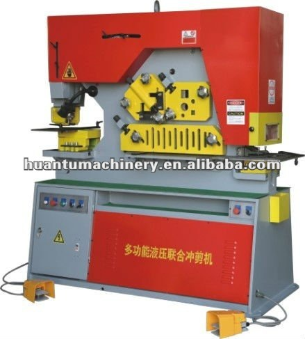 Q35Y Series tool making machinery, tool belt system, turret steel