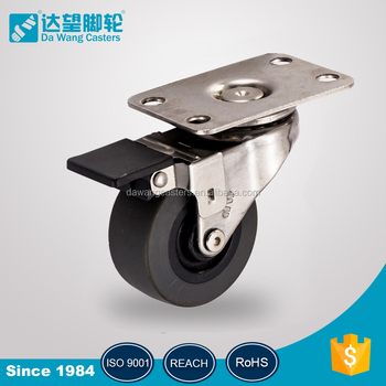 2 Inch Light Duty Plain Bearing Caster Small Wheels For Furniture