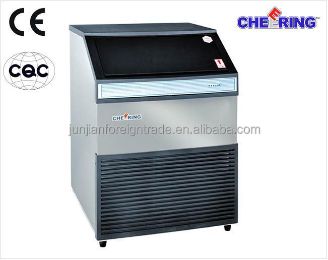 refrigeration equipment guaranteed capacity 90kg/24h cube ice making machine for catering with CE CCC