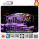 clear roof party tent with transparent pvc cover for wedding party