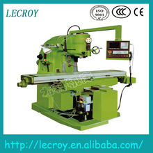 Longitudinal feed motor power 1.6kw knee type vertical milling machine XK5040