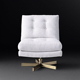 Manufacturing Fabric Hotel High Back Wing Modern Sofa Chair