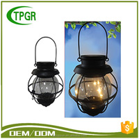 Energy Save Wholesale Craft Supplies Metal Lantern Outdoor Solar Led Metal Light