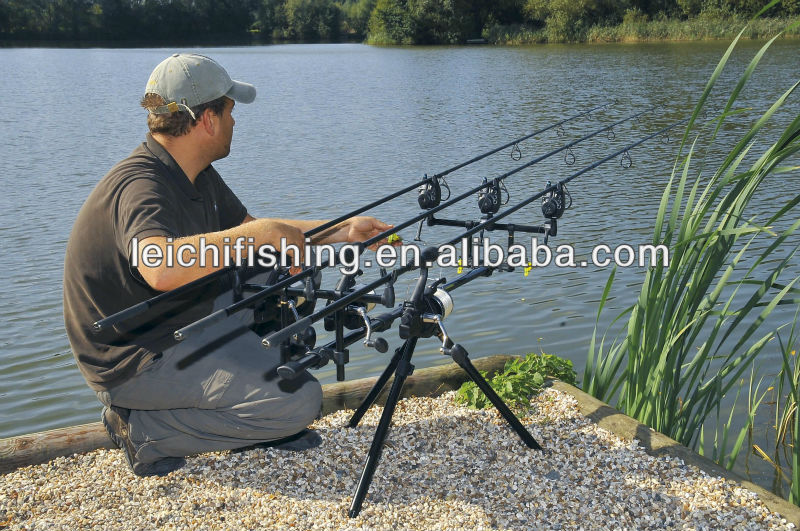 wholesale aluminium carp fishing rod pod