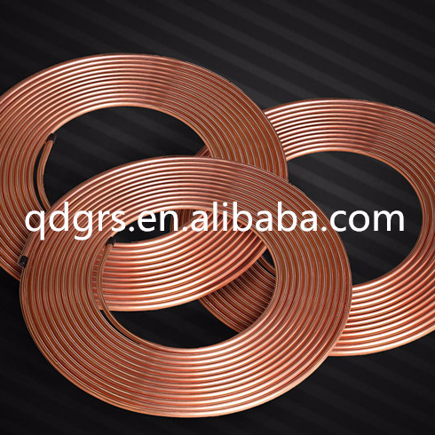 Factory price Coiled copper tube/pipe copper pipe C12200 cooper pipe C10100,C10200,C10300,C10400