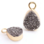 Fashion Druzy Quartz Natural Stone Drop Pendant Handmade DIY Jewelry Accessory