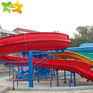 Personal Design Swimming Pool Slides Fiberglass Plastic Slide