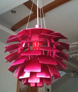 Restaurant home decorative replica PH artichoke pendant lamp