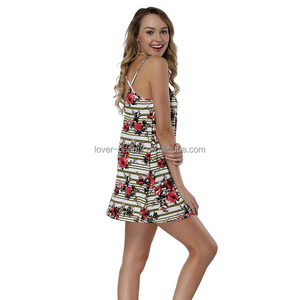 2018 Lover-Beauty Summer Backless Straps Ladies Smart Dress Women Casual