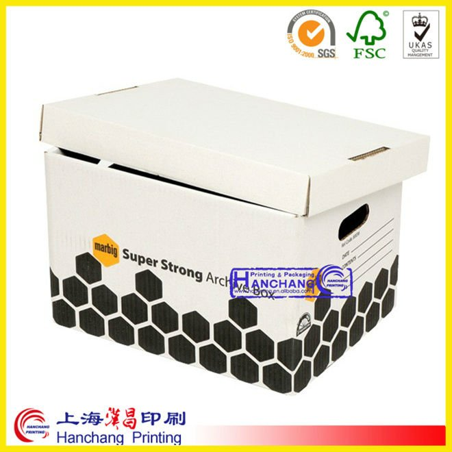 paper document archive storage boxes